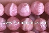 CRC1159 15.5 inches 6mm round rhodochrosite gemstone beads