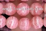 CRC1164 15.5 inches 7mm round rhodochrosite gemstone beads