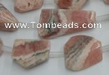 CRC160 15.5 inches 8*10mm - 13*20mm nuggets Argentina rhodochrosite beads