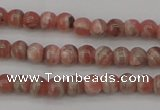 CRC754 15.5 inches 4mm round rhodochrosite beads wholesale