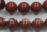 CRE02 16 inches 14mm round natural red jasper beads wholesale