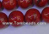 CRE307 15.5 inches 18mm round red jasper beads wholesale