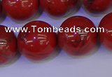 CRE308 15.5 inches 20mm round red jasper beads wholesale