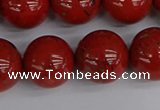 CRE315 15.5 inches 14mm round red jasper beads wholesale