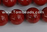 CRE316 15.5 inches 16mm round red jasper beads wholesale