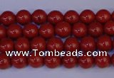 CRE320 15.5 inches 4mm round red jasper beads wholesale
