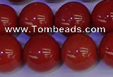 CRE327 15.5 inches 18mm round red jasper beads wholesale