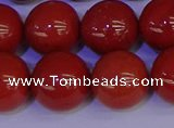 CRE328 15.5 inches 20mm round red jasper beads wholesale
