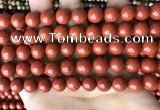 CRE353 15.5 inches 10mm round red jasper beads wholesale
