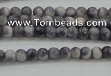 CRF435 15.5 inches 3mm round dyed rain flower stone beads wholesale