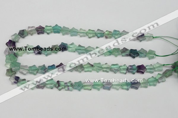 CRG04 15.5 inches 12*12mm star fluorite gemstone beads wholesale