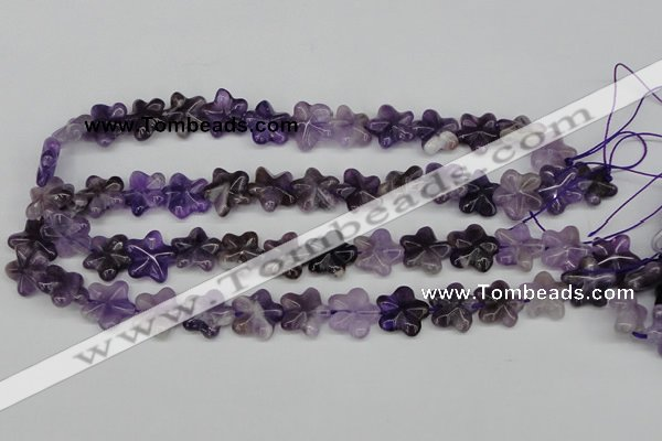CRG19 15.5 inches 16*16mm star amethyst gemstone beads wholesale