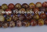 CRH500 15.5 inches 4mm round rhyolite gemstone beads wholesale