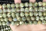 CRH574 15.5 inches 12mm round rhyolite gemstone beads wholesale