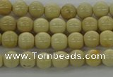 CRI200 15.5 inches 4mm round riverstone beads wholesale