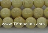 CRI203 15.5 inches 10mm round riverstone beads wholesale