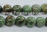 CRJ18 15.5 inches 12mm round african prase jasper beads wholesale
