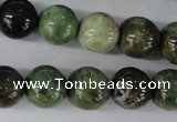 CRJ19 15.5 inches 14mm round african prase jasper beads wholesale