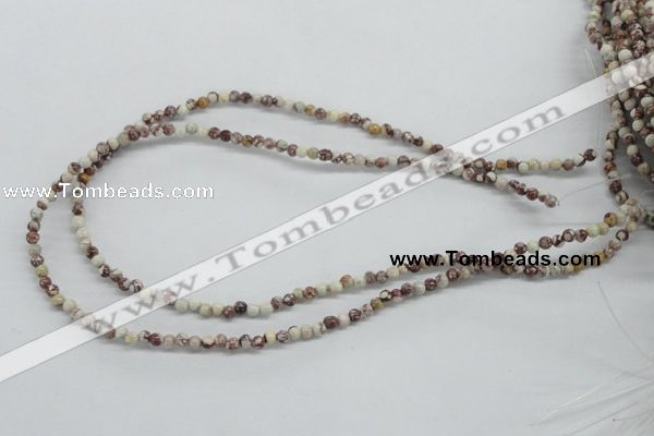 CRM11 15.5 inches 4mm round red mud jasper beads wholesale
