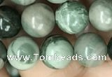 CRM202 15.5 inches 8mm round green mud jasper beads wholesale
