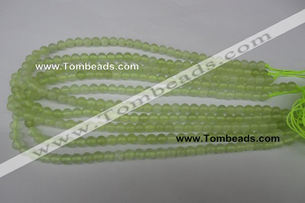 CRO01 15.5 inches 6mm round New jade gemstone beads wholesale