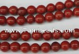 CRO06 15.5 inches 6mm round red jasper beads wholesale