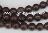 CRO112 15.5 inches 8mm round purple aventurine beads wholesale