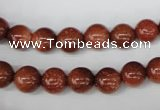 CRO128 15.5 inches 8mm round goldstone beads wholesale