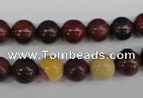 CRO137 15.5 inches 8mm round mookaite gemstone beads wholesale