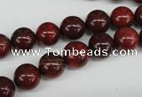 CRO186 15.5 inches 10mm round brecciated jasper  beads wholesale