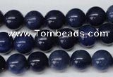 CRO219 15.5 inches 10mm round blue aventurine beads wholesale