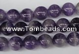 CRO237 15.5 inches 10mm round amethyst gemstone beads wholesale