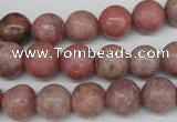 CRO238 15.5 inches 10mm round rhodochrosite gemstone beads wholesale