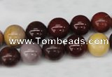 CRO248 15.5 inches 10mm round mookaite gemstone beads wholesale