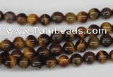 CRO25 15.5 inches 6mm round yellow tiger eye beads wholesale