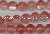 CRO253 15.5 inches 10mm round cherry quartz beads wholesale