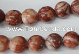 CRO282 15.5 inches 12mm round jasper gemstone beads wholesale