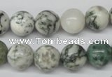 CRO300 15.5 inches 12mm round tree agate beads wholesale