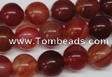 CRO302 15.5 inches 12mm round agate gemstone beads wholesale