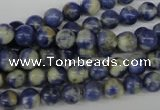 CRO31 15.5 inches 6mm round sodalite gemstone beads wholesale