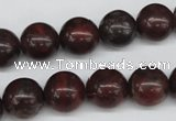 CRO318 15.5 inches 12mm round brecciated jasper beads wholesale