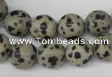 CRO320 15.5 inches 12mm round dalmatian jasper beads wholesale