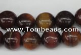 CRO339 15.5 inches 12mm round red tiger eye beads wholesale