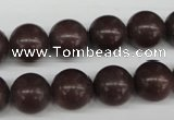 CRO350 15.5 inches 12mm round purple aventurine beads wholesale