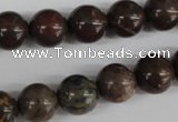 CRO356 15.5 inches 12mm round jasper gemstone beads wholesale