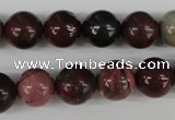 CRO357 15.5 inches 12mm round mookaite gemstone beads wholesale