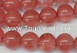 CRO369 15.5 inches 12mm round cherry quartz beads wholesale
