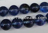 CRO371 15.5 inches 12mm round watermelon blue beads wholesale