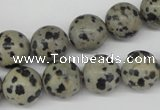 CRO385 15.5 inches 14mm round dalmatian jasper beads wholesale