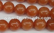 CRO391 15.5 inches 14mm round red aventurine beads wholesale